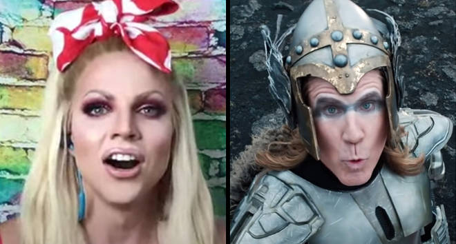 Courtney Act reacts to Netflix's Eurovision Song Contest