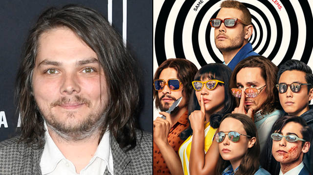 Gerard Way just released a new song inspired by The Umbrella Academy