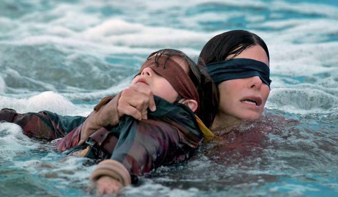 Sandra Bullock stars as Malorie in Bird Box