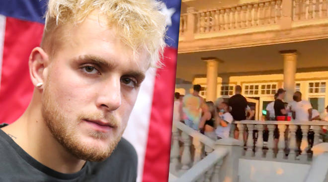 Jake Paul under fire after hosting music video party