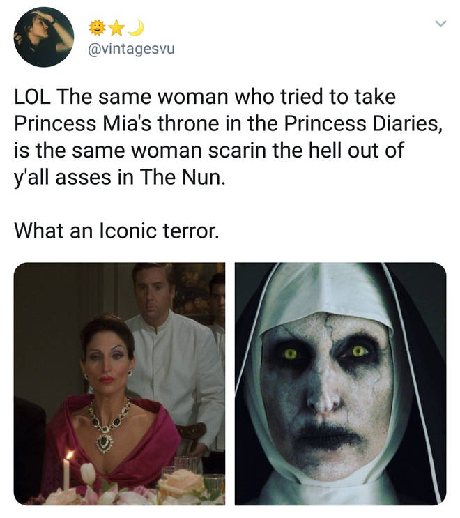 The Nun Bonnie Aarons reactions