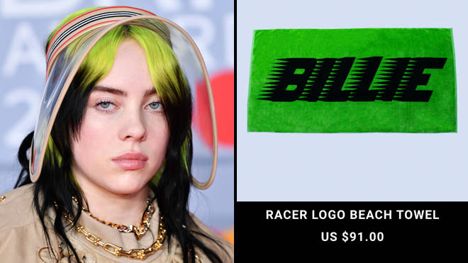 Billie Eilish fans are upset with how expensive her new merch is