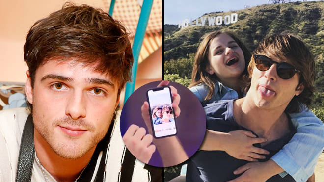 Jacob Elordi Looked At Old Photos With Joey King For Emotional The Kissing Booth 2 Popbuzz