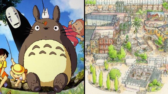 Studio Ghibli theme park will open in 2022
