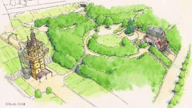 Studio Ghibli theme park will open in 2022 (2)