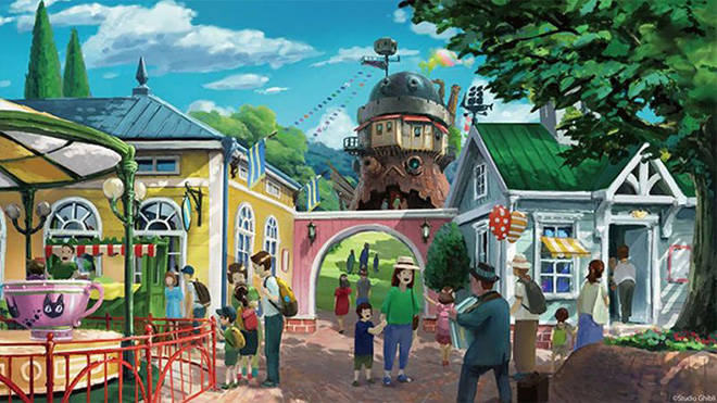 Studio Ghibli theme park will open in 2022 (10)