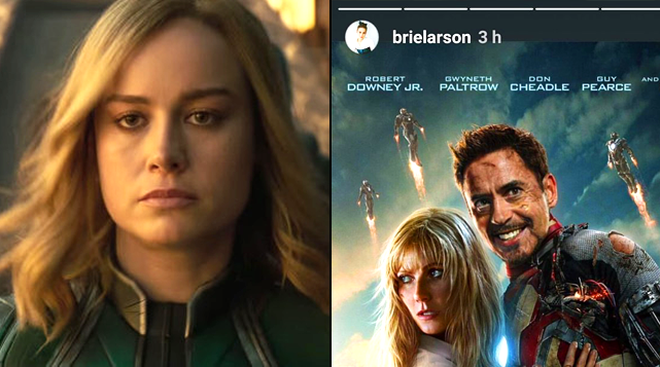 Brie Larson S Savage Response To Marvel Fans Who Said She Should
