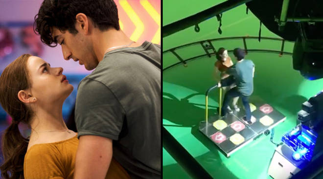 The final dance scene in the arcade was filmed on a green screen.