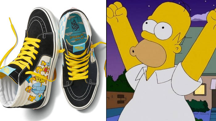 Vans Launch New Collection With The Simpsons And It Looks Iconic Popbuzz