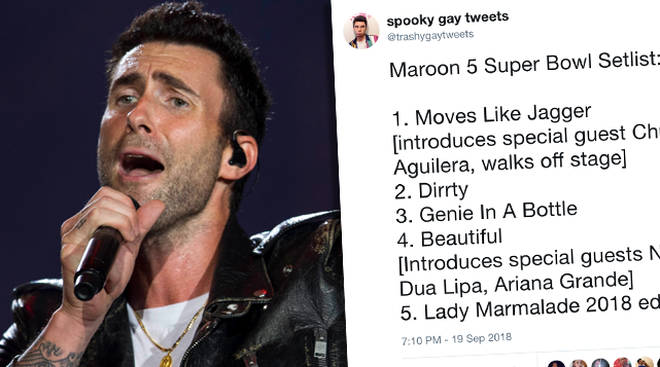 Maroon 5 Super Bowl Meme