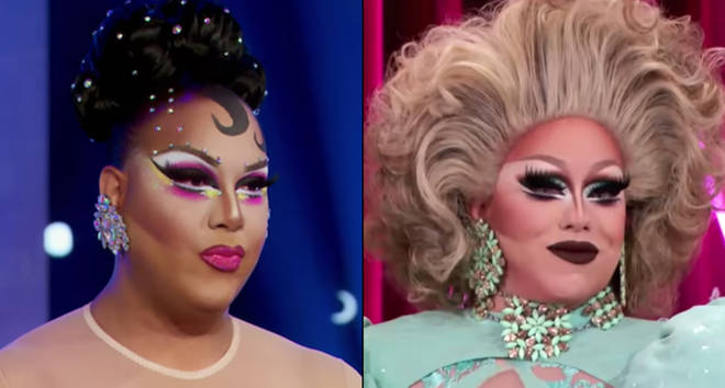 Alexis Mateo and India Ferrah on RuPaul's Drag Race: All Stars