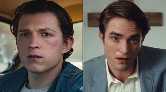 Tom Holland Robert Pattinson lead star studded Netflix cast in The Devil All the Time