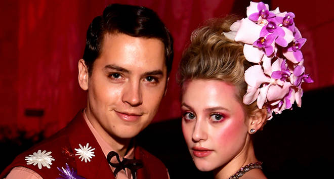 Lili Reinhart and Cole Sprouse attend The 2019 Met Gala.