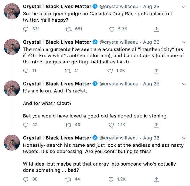 Crystal Tweets