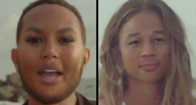 Chrissy Teigen and John Legends Reface App Face Swap
