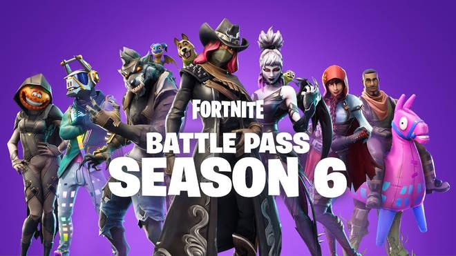 fortnite season 6 six battle pass trailer video darkness rises