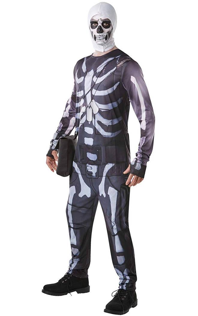 skull trooper fortnite halloween costume