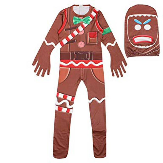 gingerbread man fortnite skin halloween costume