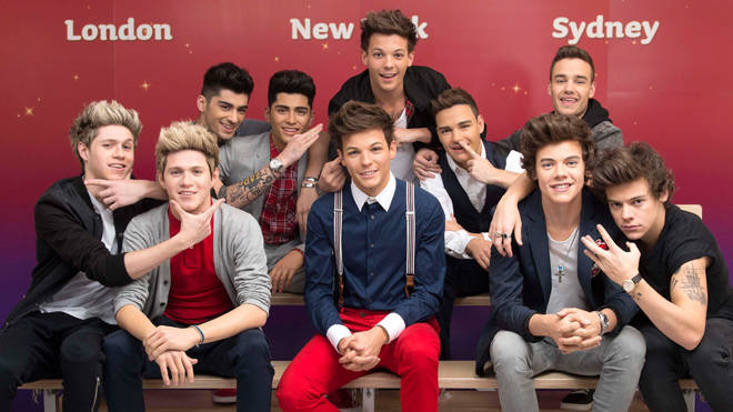 Madame Tussauds remove One Direction wax figures