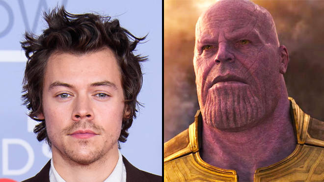 Harry Styles fans think he's been cast as Thanos' brother Starfox in Marvel's Eternals