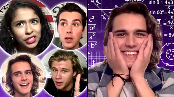 Julie and the Phantoms cast play The Most Impossible Julie and the Phantoms Quiz | PopBuzz Meets