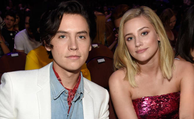 Cole Sprouse and Lili Reinhart attend FOX's Teen Choice Awards at The Forum on August 12, 2018 in Inglewood, California.
