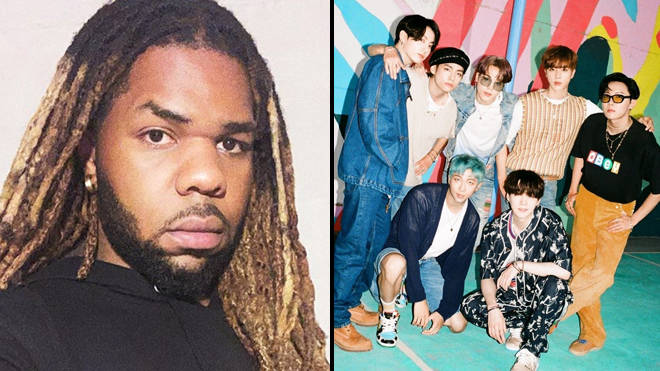 "MNEK calls out ""conservative"" BTS Dynamite songwriter"