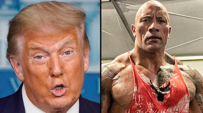 Endording Joe Biden is the first time Dwayne 'The Rock' Johnson has spoken out about politics.