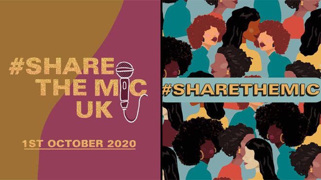Share the Mic UK: Celebrities team up for Black History Month UK Instagram takeover