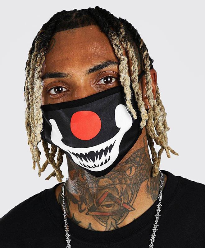 Clown Face Mask