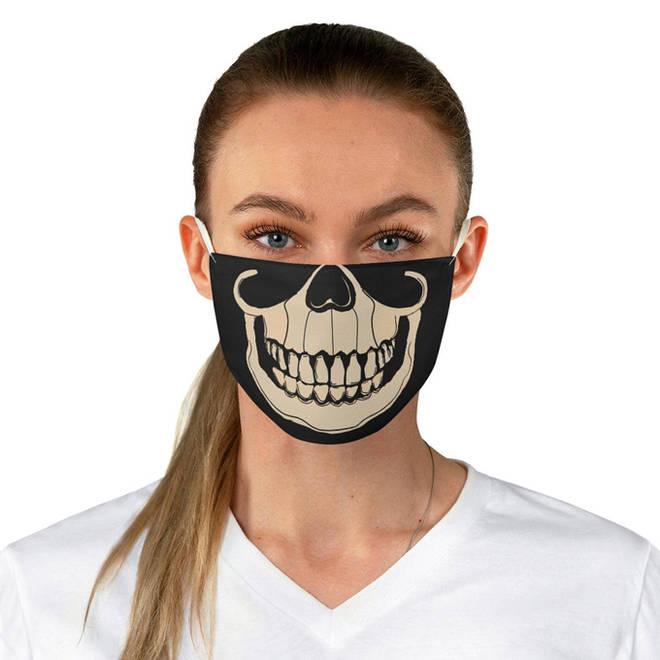 Skeleton Face Mask