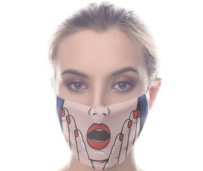 Pop Art Face Mask