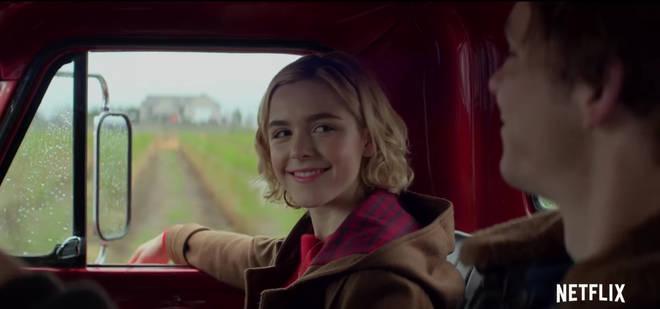 Sabrina Netflix screenshot