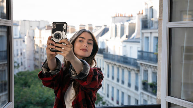 Where to buy: Emily in Paris camera phone case