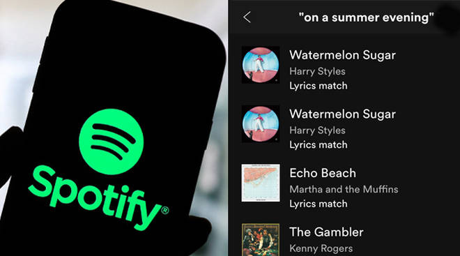 You can now search for any song on Spotify using just the lyrics.