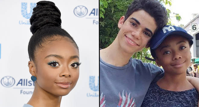 Skai Jackson performs moving Dancing With The Stars routine in tribute to Cameron Boyce