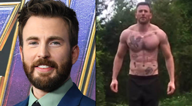 Chris Evans has more tattoos than people thought