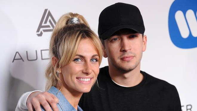 Tyler Joseph and Jenna Joseph at the Warner Music Group's Annual GRAMMY Celebration