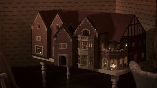 Flora Wingrave's replica Bly Manor dolls house has an eerie life of it's own