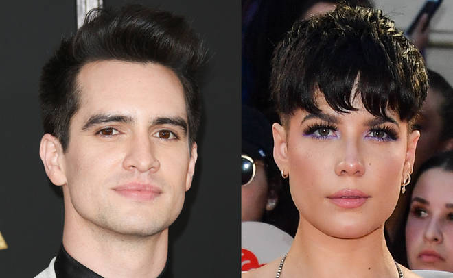 Brendon Urie and Halsey