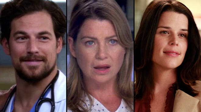 Can you name all these Grey's Anatomy characters?