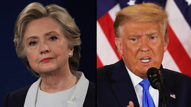 Hillary Clinton told us exactly how Trump would react if he didn't win the US election