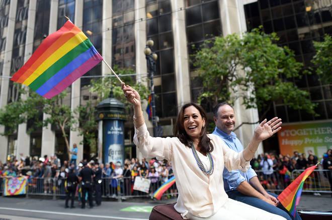 Kamala Harris San Francisco Gay Pride 2016