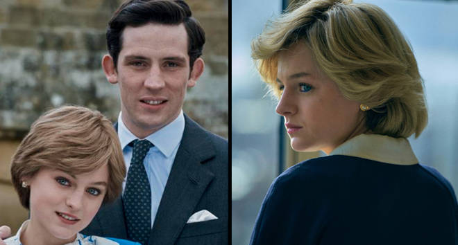 Prince Charles and Diana The Crown season 4