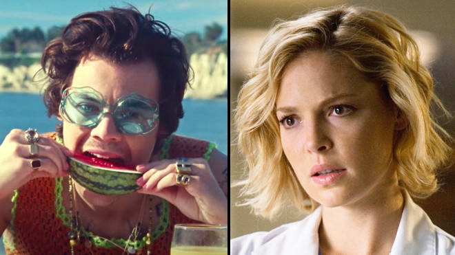 Katherine Heigl Just Found Out Harry Styles Watermelon Sugar Is About Oral Sex Popbuzz