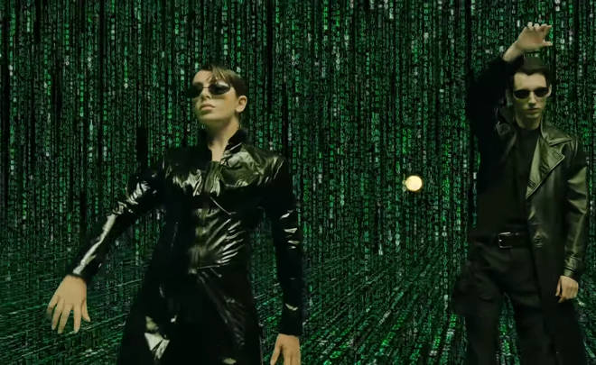 Troye Charli the matrix