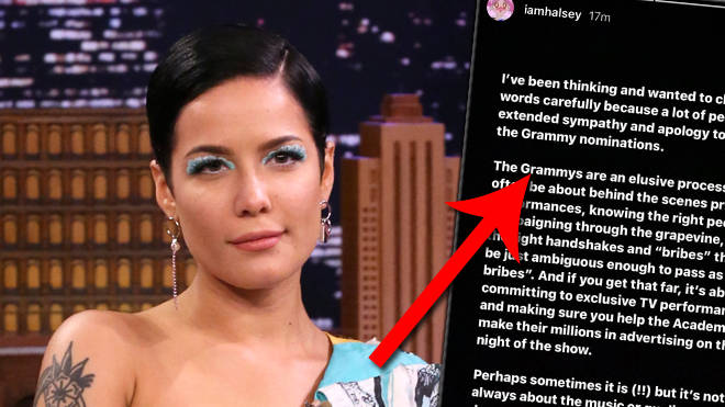 Halsey calls out the Grammys after being snubbed at the 2021 ceremony