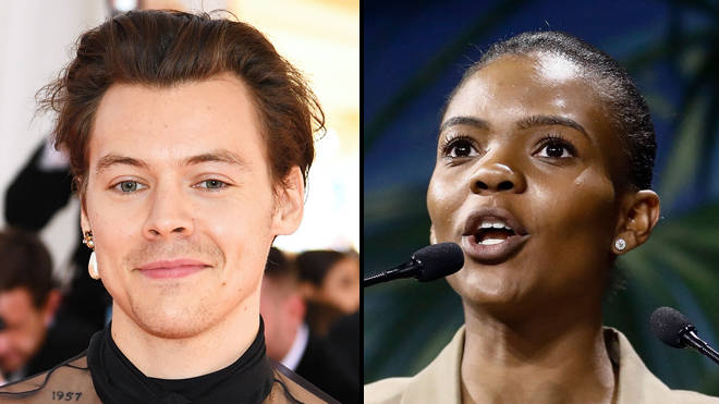 Harry Styles claps back at Candace Owens criticising him for wearing a dress