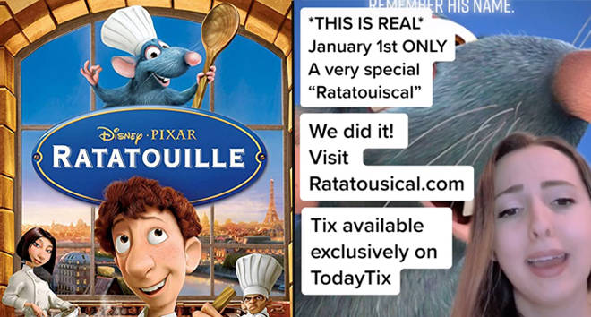 Ratatouille: The TikTok Musical is being turned into a live musical production
