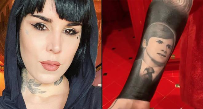 Kat Von D reveals reason behind controversial blackout tattoo